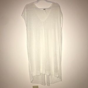 Free People Sheer Knit Cover Up